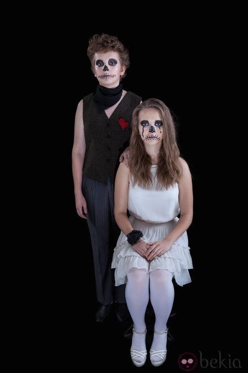 Disfraz de calavera para Halloween