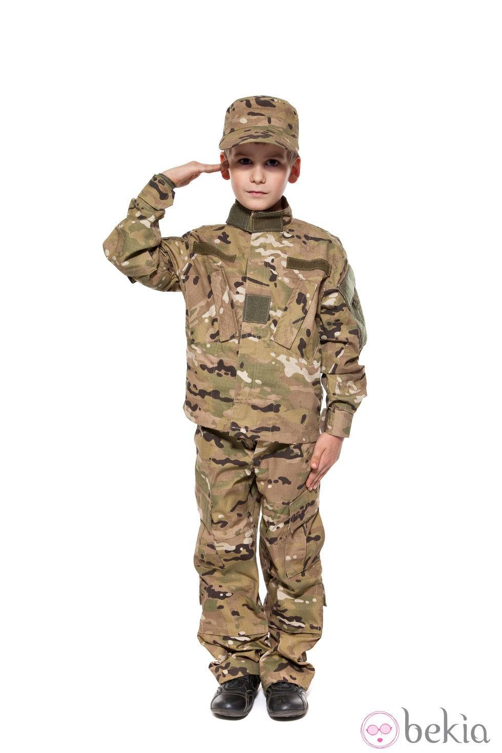 Resultado de imagen de disfraz militar niño
