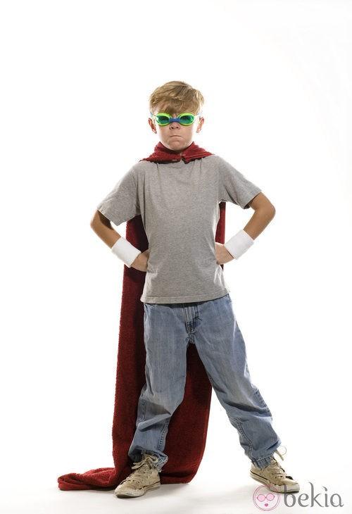 Disfraz de superhéroes para Halloween