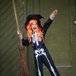 Disfraz de esqueleto de Halloween