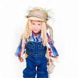 Disfraz de granjero de calabazas de Halloween