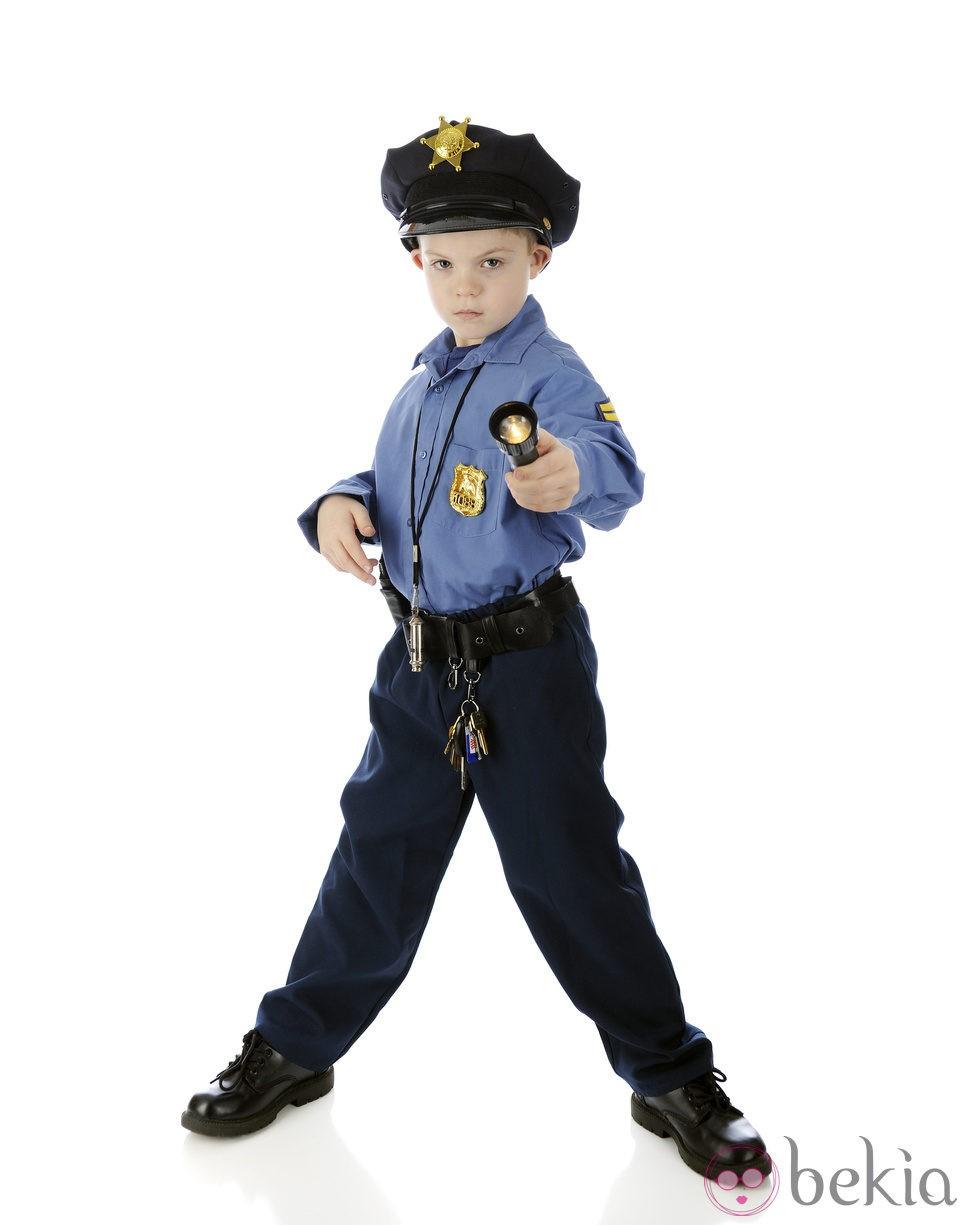 Disfraz de polic a para ni o disfraces de ni os para - Disfraces de pina para ninos ...