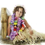 Disfraz de hawaiana para Halloween