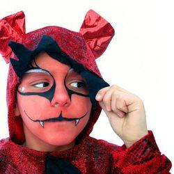 Maquillaje de diablo para Halloween