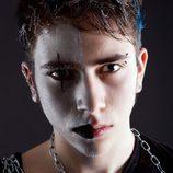 Maquillaje de vampiro gótico para Halloween