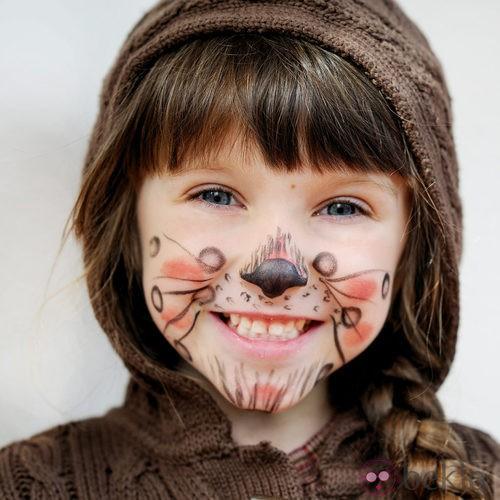 Maquillaje de gato para Halloween