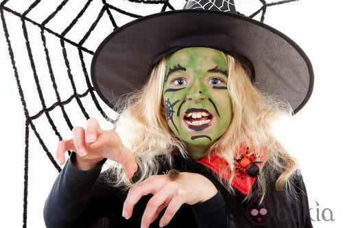 Maquillaje de Elphaba para Halloween