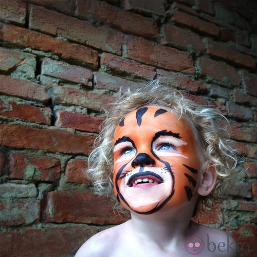 Maquillaje de tigre para Halloween