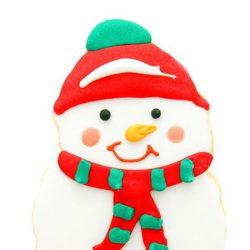 Galleta de muñeco de nieve