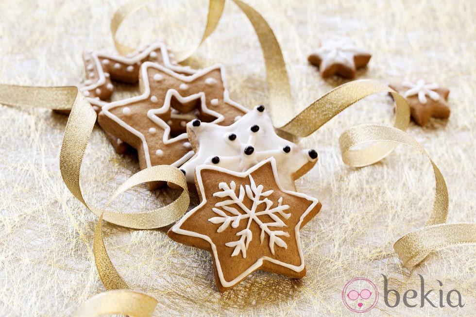 anterior galletas de estrellas de navidad