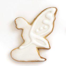 Galleta de Navidad con forma de ángel