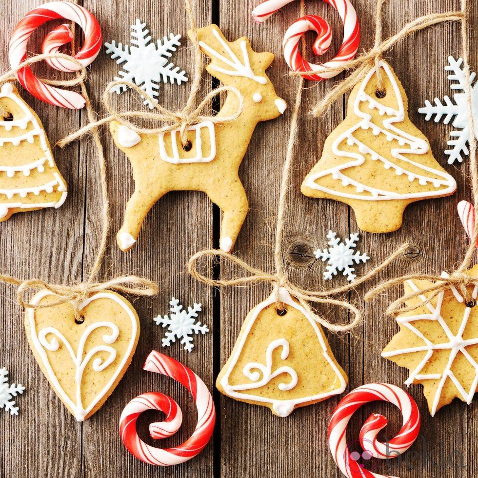 Galletas de navidad para colgar en el rbol ideas para - Ideas para decorar estrellas de navidad ...